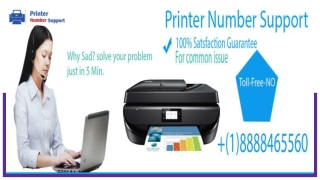 Printer Support Services| Dial- (1)-888-846-5560