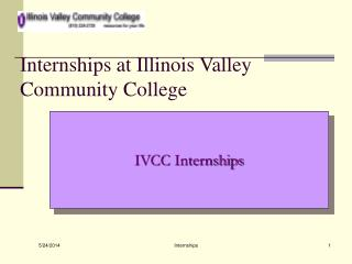 Internships at Illinois Valley Community College