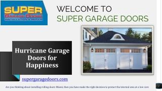 Garage Door Service Miami FL