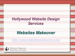 Hollywood Website Design Services
