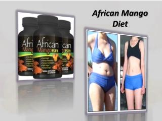 African Mango Diet