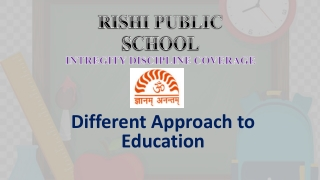 Different Approach to Education