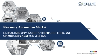Regional Growth Engines For Pharmacy Automation Market