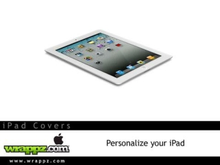 Get Ultimate Protection With Latest iPad cases by Wrappz.com