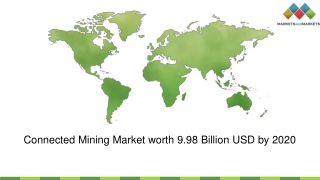 Smart Mining Market by solution & method