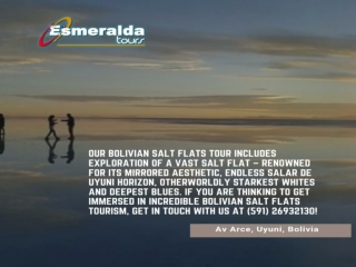 Salar De Uyuni Bolivia Tour