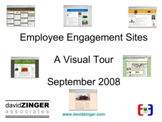 Employee Engagement Sites Visual Tour