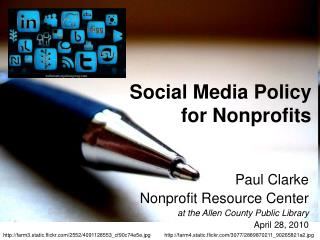 Social Media Policy  for Nonprofits