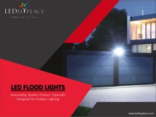 LED Flood Light Fixtures for Sale Online