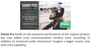 Domio Pro Reviews - Powerful surround sound you can feel!