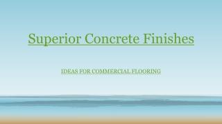 Roll Coat Epoxy Floors Option for Commercial Floor in Brisbane