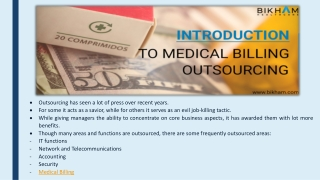 Offering Best In The Market Medical Billing Outsourcing Services