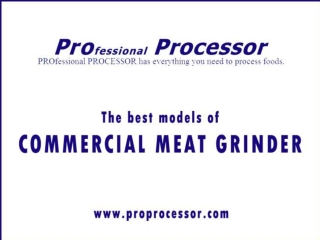 Get all models of Commercial meat grinder | Meat Grinder