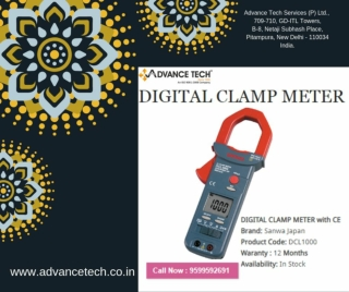 "Buy ""Digital Clamp Meter"" From The Best Online Supplier In India"