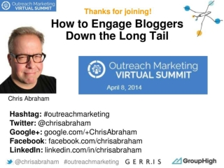 How to Engage Bloggers Down the Long Tail