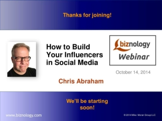How to Build Your Influencers in Social Media