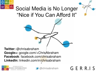 "Social Media is No Longer Just ""Nice if You Can Afford It"""