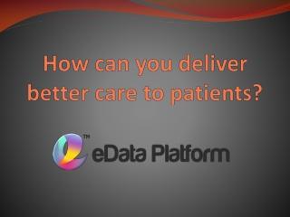 Digital Transformation - eData Platform