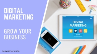 Best Digital Marketing Company - SEO Warriors