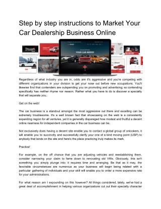 Auto dealer Wordpress Themes