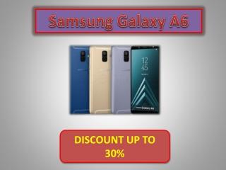 Buy Samsung Galaxy A6 on Best Price in India (Black, 4GB RAM, 64GB Storage)