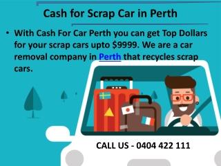 Cash For Scrap Car In Perth