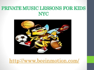 Kids Private Music Lessons
