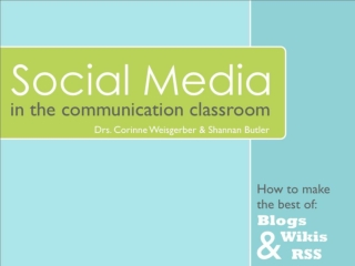 Social Media in the Classroom