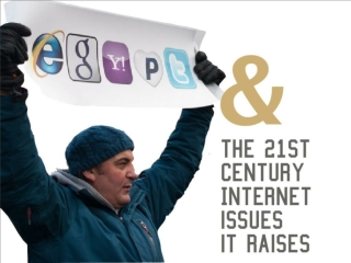 Egypt's role in highlighting 21st century Internet issues