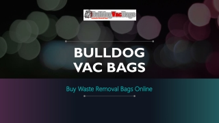 Shop For Insulation Vacuum Bags In USA