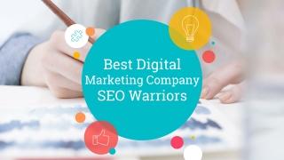 Digital Marketing Company - SEO Warriors