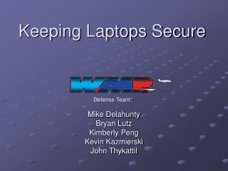 Keeping Laptops Secure
