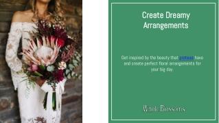 Create Unique & Dreamy Floral Arrangements with Protea Flowers