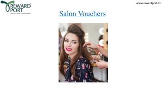 Salon Vouchers