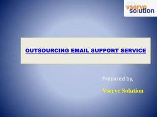 Outsource Email Support Services   Customer Email Support   Vserve