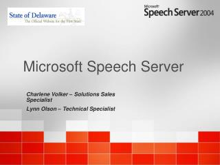 Microsoft Speech Server