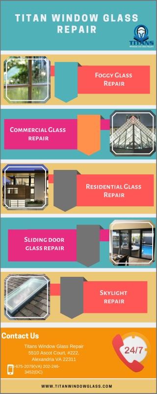 Lease Foggy glass repair Service provider at Titan Window Glass