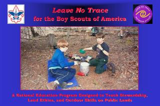 Leave No Trace for the Boy Scouts of America