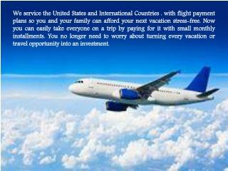 Pay Airfare Installments   FLIGHTLAYAWAY