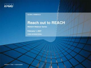 Reach out to REACH