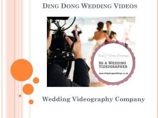 Wedding Video Norfolk