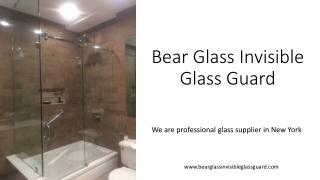 Bear Glass Invisible Glass Guard