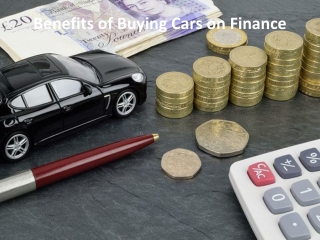 Benefits of Buying Cars on Finance