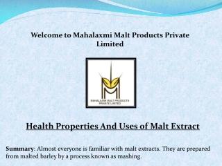 Malt extract liquid , Liquid malt extract , malt extract