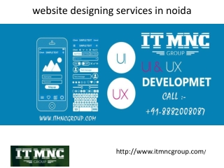 website designing services in noida - it mnc group