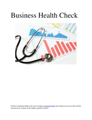 External And Internal Factors of Business Health Check
