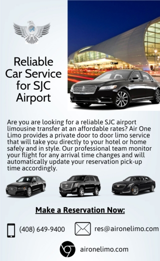 Reliable Car Service for SJC Airport