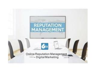 Online Reputation Management- Digital Marketing