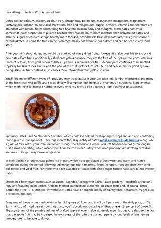 20 Things You Should Know About kurma nabi ajwa