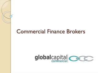 Commercial Finance Brokers